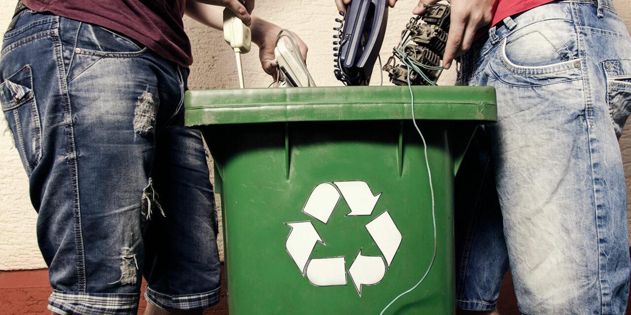 E-waste, un problema de la nueva era tecnológica